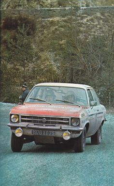 Monte Carlo 1972 - Ragnotti Jean - Thimonier PierreiconOpel Ascona 1.9
