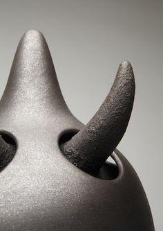 """Horns 2009"" by Christine Nofchissey McHorse- Courtesy the Artist"