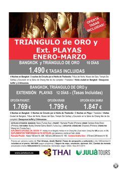 Bangkok-Triangulo de Oro y Ext. Playas Enero-Marzo Thai Airways desde 1.490€ Tasas Incluidas ultimo minuto - http://zocotours.com/bangkok-triangulo-de-oro-y-ext-playas-enero-marzo-thai-airways-desde-1-490e-tasas-incluidas-ultimo-minuto/