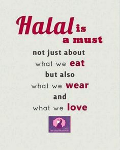 Nothing but Halal!!! <#