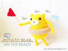 http://ahmaymet.blogspot.ru/2013/05/free-pattern-potato-bear-on-beach.html