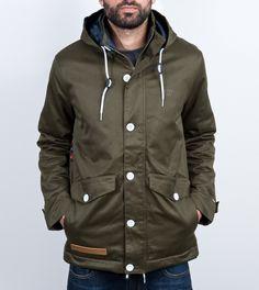 Chun Coat army/plaid - DRMTM - DreamTeam Clothing