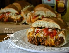 cheeseburger bread
