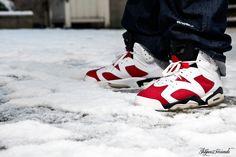 Nike Air Jordan VI Carmine