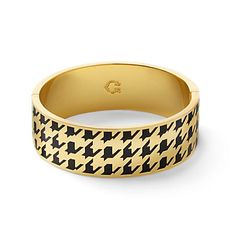 Just fell in love with the Houndstooth Print Enamel Bangle for $58 on C. Wonder! Click on the image and receive 20% off your next full-price purchase and find something you love too!