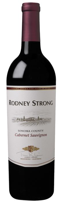 Rodney Strong Vineyards Sonoma County Cabernet Sauvignon 2010. The cool, foggy nights that regularly enshroud the winery, though crucial for fine Pinot Noir and Chardonnay, are not ideal for growing Cabernet Sauvignon. For that, you have to look to the Alexander Valley, where the days are warmer and the influence of the cool Pacific Ocean diminished. Blackberry, cocoa, and currant lead to a rich, layered mouthfeel, replete with black cherry, cedar, and cassis, structured with lush tannins.