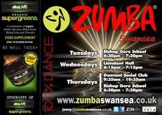 Finally, we've just amended an existing advert design for Zumba Swansea. Nothing major - just a quick tweak to change the time and  venue for the Wednesday evening classes. The rest of the classes are on the ad :) #Design #Advert #Ad #Zumba #Classes #Swansea #Gower #Fitness #Fun #LetItMoveYou #myzumbamoves