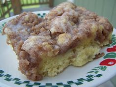 ---CINNAMON STRUESEL COFFEE CAKE---    4 cups all-purpose flour  1-1/2 cups sugar  1 tablespoon + 1 teaspoon baking powder  1 teaspoon salt  1 cup butter  2 egg  1-1/2 cups milk, or as needed  1 tablespoon vanilla extract  TOPPING  1/2 cup all-purpose flour  1-1/3 cups white sugar  2 teaspoons ground cinnamon  1/2 cup butter
