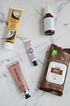 Favorite winter beauty products