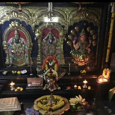 Lakshmi and venkateshwar  at my residence