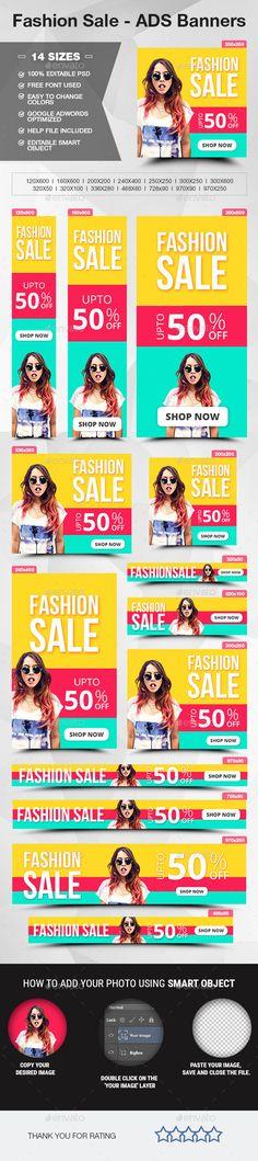 Fashion Sale - ADS Banners