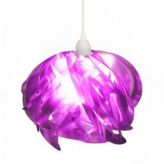 Ali (Wings) Pendant Lamp in purple, available on http://www.amazon.com/gp/product/B0077USNV4.  Only ONE left!