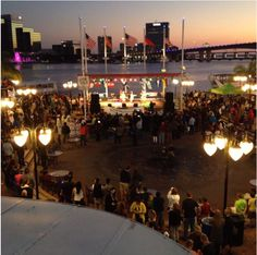 @RFAAjax on Instagram  Jacksonville Landing: One of the many hotspots on the St. Johns River