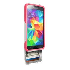 Otterbox [Commuter Series] Wallet Case for Samsung Galaxy S5 -  Retail Packaging Protective Case for Galaxy S5  - Neon Rose (White/Blaze Pink), http://www.amazon.com/dp/B00IPGVUSW/ref=cm_sw_r_pi_awdm_aNc3tb02QEAF5