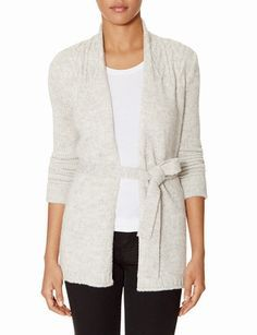 Open Front Cable Knit Cardigan from THELIMITED.com #TheLimited #TheSweaterShop