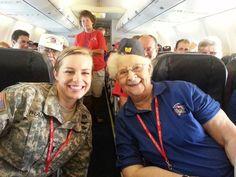 Old Glory Flight September 2013 -- Great photo! #joinarmsrace #donateblood