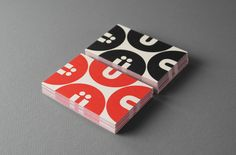 Truf Business Cards – The idea of creating a pattern from multiple cards
