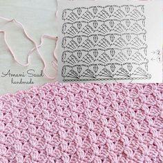 Best 10 – Page 764556474216901828 – SkillOfKing.Com - vamos a tejer - İmages Crochet Stitches Chart, Crochet Motif Patterns, Crochet Diagram, Crochet Designs, Stitch Patterns, Knitting Patterns, Gilet Crochet, Crochet Baby, Crochet Videos