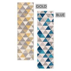 Shop for Well Woven Mid Century Modern Geometric Runner Rug (2' x 7'3). Free Shipping on orders over $45 at Overstock.com - Your Online Home Decor Outlet Store! Get 5% in rewards with Club O!