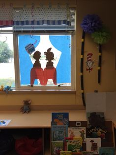 The Dr Seuss window where my students check what the weather is doing.