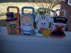 Mad Hatter and Friends Favor Boxes Set of 12 by zbrown5 on Etsy, $14.40