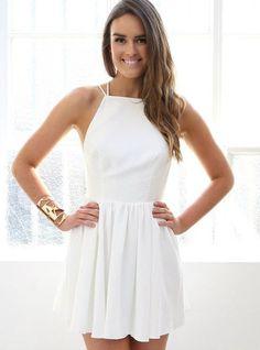 Esther Boutique - Keepsake More Than This Mini Dress - Ivory Dresses Short, Hoco Dresses, Pretty Dresses, Homecoming Dresses, Evening Dresses, Casual Dresses, Summer Dresses, Prom Dress, Graduation Dresses