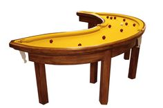 This banana pool table. | 14 Outrageous Pieces Of Furniture That Actually Exist