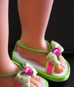 "Debs HOT PINK Basic Anklet Bobby Socks Doll Clothes For 18/"" American Girl"