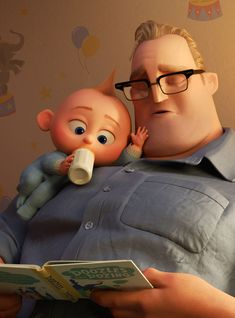 The Incredibles 2 wants to turn stay-at-home into superheroes. We sat down with four stay-at-home dads to unpack their hopes and anxieties for the upcoming Pixar sequel 14 years in the making. Film Pixar, Disney Pixar Movies, Disney Cartoons, Disney Characters, Cartoon Movies, Jack And Jack, Disney Incredibles, Walt Disney Pictures, Cute Disney Wallpaper