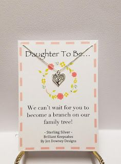 Welcome to the Family Gift for Daughter in Law Sterling Silver Tree with Love Necklace for sale Daughter In Law Quotes, Daughter In Law Gifts, I Love My Daughter, Best Bridal Shower Gift, Wedding Day Quotes, Cheap Wedding Venues, Wedding Ideas, Wedding Planning Timeline, Welcome To The Family