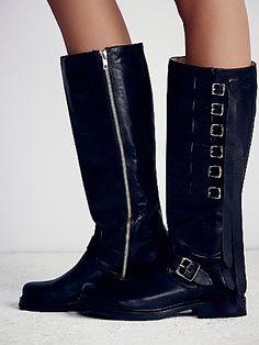stunning black boots