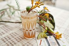Root and Ginger Cocktails with Art in the Age - bykaraelise
