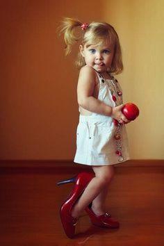 Cute! Love her!!