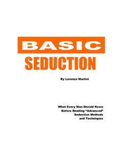best seduction methods