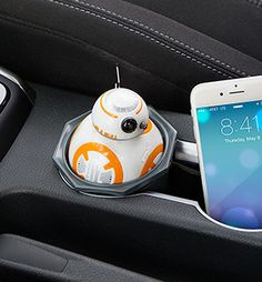 NEED THIS!  Star Wars BB-8 USB Car Charger | ThinkGeek
