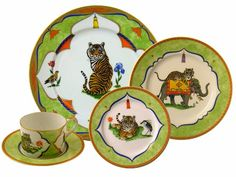 so thankful that I have my grandmother's full set! China Patterns, Wild Child, China Porcelain, Full Set, Cat Lady, Ceramic Pottery, Bella, Tabletop, Dinnerware