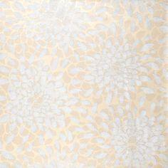 Floral Foiled Wallpaper
