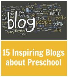 15 inspiring blogs about preschool