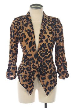 $35.00    http://www.shopamourboutique.com/new-arrivals/product/3356-cheetah-blazer