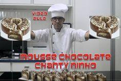 MOUSSE DE CHOCOLATE COM CHANTY NINHO