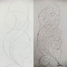 Today's #sketch #islamic #floral #design