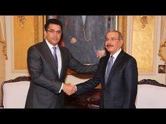 Presencia_RD - David Collado y Danilo Medina acuerdan agenda de trabajo en favor…