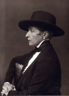 Radclyffe Hall -- The courage to write our truth in a world which would prefer we lie.