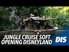 (1673) Jungle Cruise 2021 Update Soft Opening at Disneyland - YouTube Disneyland Resort, Cruise, Youtube, Cruises, Youtubers, Youtube Movies
