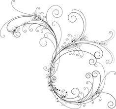 Filigree Patterns Free Download | Fancy Filigree Royalty Free Stock Vector Art Illustration