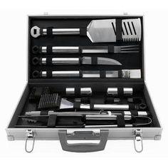 21 Pc Tool Set (02066X) - by Mr Bar B Q. $74.69. Silver Prestige 21 Pc Tool Set