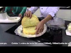 ▶ Receitas Bom Sabor 01/08/2013 - Bolo quatro leites com morango - YouTube