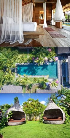 Take me there! Bali Ethnic Villa is an amazing villa in Umalas, Bali. Just look at that pool! Definitely my new dream accommodation in Bali.