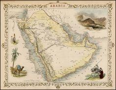 Arabia: navigational chart