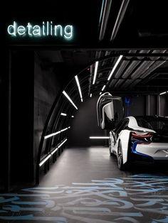 Black Star Car Wash GRETAPROJECT Garage design